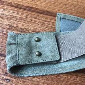 Anthropologie Accessories - **FINAL PRICE **Green suede belt